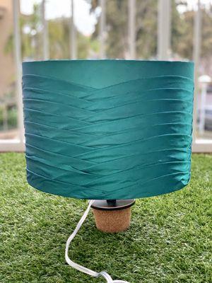 Circular Teal Lamp Shade for Sale in Coronado, CA