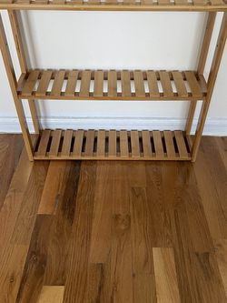 Bamboo Storage Rack 24in X 20in X 5in for Sale in Brooklyn,  NY