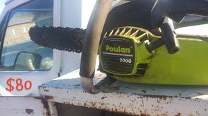 Poulan Chainsaw for Sale in Lamont, CA