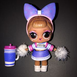 LOL Surprise Doll Sis Cheer Toy Cheerleader for Sale in Irving, TX