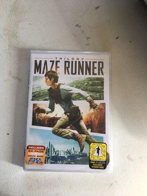 Trilogy Maze Runner Movie for Sale in Chula Vista, CA