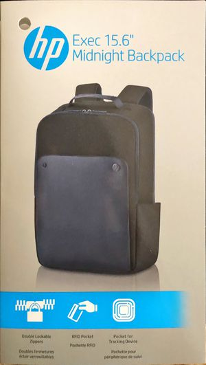 """HP Exec 15.6"""" Midnight Backpack for 15.6""""/39.6cm Computer for Sale in Waterloo, IA"""