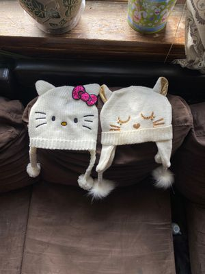 Girls kitty winter hats for Sale in Chicago, IL