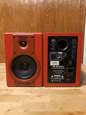M-Audio Studiophile BX5a Deluxe Limited Edition Studio Monitors for Sale in San Diego, CA