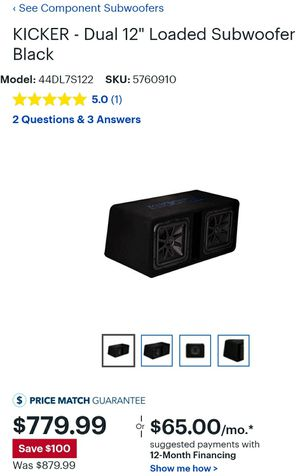 BRAND NEW CAR AUDIO for Sale in Fresno, CA