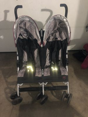 double stroller side by side $60 for Sale in Downey, CA