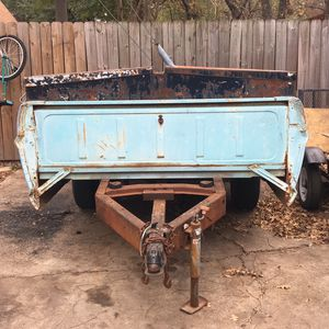 Old Ford Tailgate Trailer For Sale Title In Hand for Sale in Irving, TX