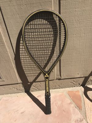 Tennis racket wooden Fisher classic wood racquet for Sale in Moraga, CA