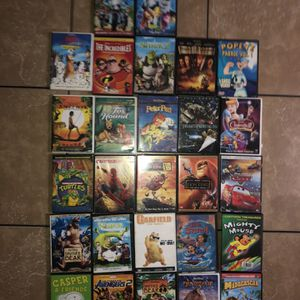 27 Movies (Some Originals Some Are Not ) Good Condition Asking $10 Firm For All for Sale in Compton, CA