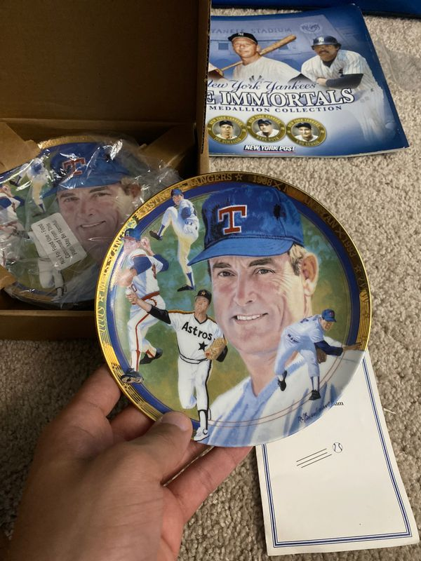Nolan Ryan The Strikeout Express Plate by Hamilton Collection - Original packaging
