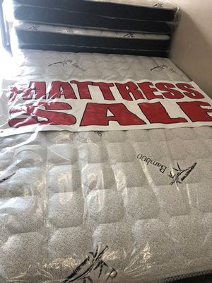 queen mattresss with box for Sale in Los Angeles, CA