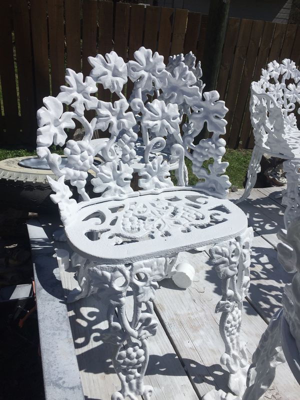 Atlanta Stove Works Iron Garden Furniture For Sale In
