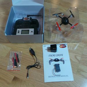 Xtreme flights mini drone 2.0 camera + p/supply new set for Sale in Seattle, WA