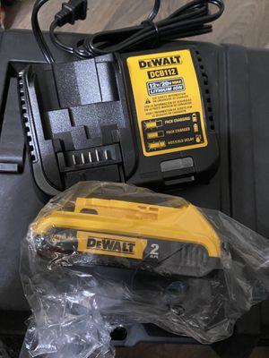 Dewalt 20v Max 2.0ah Battery & 20v/12v Charger ( Both for $40.00) Firm on price New!! for Sale in San Diego, CA