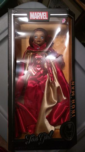 Iron Man doll girl doll fan girl collectible for Sale in Chandler, AZ