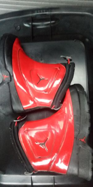 Jordan's red rubber boots for Sale in Yelm, WA