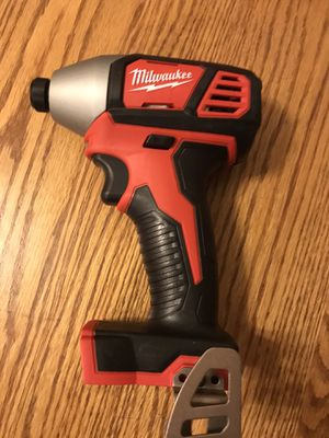 Brand new Milwaukee M18 impact drill. Tool only. $50 firm. Check out my other items for sale. Pick up in Lombard for Sale in Lombard, IL