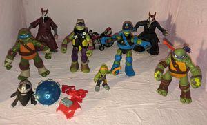 Teenage Mutant Ninja Turtles Action Figures Lot TMNT Accessories for Sale in Beaverton, OR
