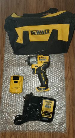 BRAND NEW, DEWALT XTREME 12-Volt Max Variable Speed Brushless Drive Cordless Impact Wrench (1-Battery, Charger And Bag. NUEVO for Sale in Las Vegas,  NV
