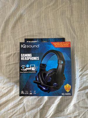 IQ Gaming Headphones for Sale in Bloomington, CA
