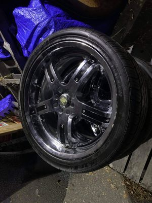 """**19"""" 4 lug Universal rims** for Sale in Hartford, CT"""