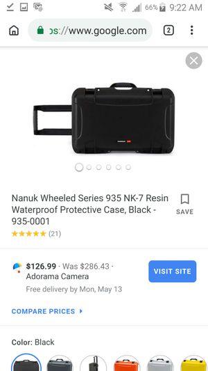 Nanuk 935 wheeled case for Sale in Littleton, CO