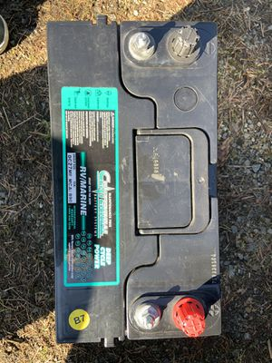 Brand new deep cycle battery for Sale in Spanaway, WA