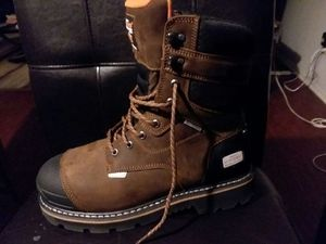 Brand New Size 11 Leather Steel Toed work boots for Sale in Arlington, TX