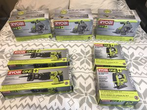 Ryobi Brushless Tools for Sale in Chula Vista, CA