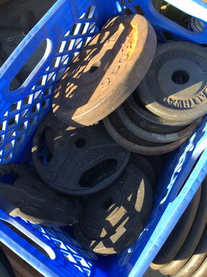 All weights $1.5/lb I have 10lb and 5lb for Sale in Azusa, CA