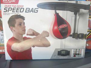 New Over the Door Speed Bag - Majik - Easily Adjustable - Built-in Timer for Sale in Austin, TX