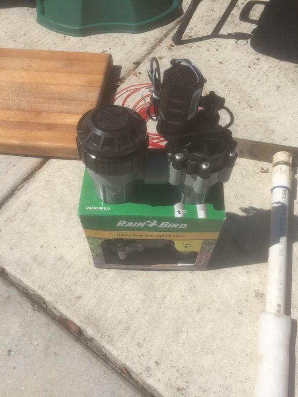 "Rain Bird 1"" sprinkler valves -(2)"