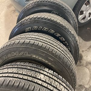 4 Rims And Tires For A Jeep Grand Cherokee An Great Condition Almost New for Sale in Providence, RI