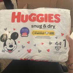Size 1 Pack Of Diapers for Sale in Township of Taylorsville,  NC
