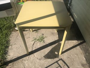 Yellow Kitchen Table for Sale in Dupont, PA
