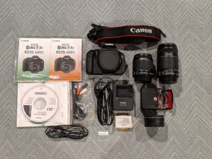 Canon Rebel T3i DSLR Camera with Extra Lense and Accessories for Sale in Las Vegas, NV