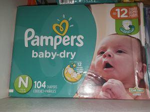 Newborn diapers for Sale in San Bruno, CA