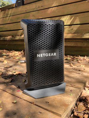 Netgear Gigabit Cable modem (Docsis 3.1, Xfinity compatible) for Sale in Houston, TX