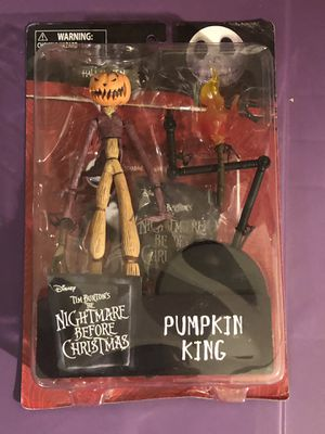 Nightmare before Christmas Pumpkin King Diamond Select Rare!! for Sale in Queens, NY