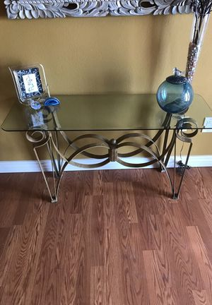 Glass table for Sale in Tempe, AZ