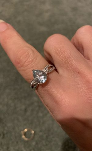 Aquamarine & Diamond Ring for Sale in New Haven, CT