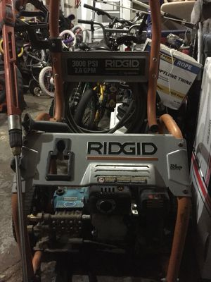 RIDGID SUBARU 170cc OHC 3000psi 2.6gpm CAT Pump Gas Pressure Washer for Sale in Brooklyn, NY