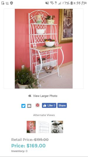 Bakers rack $40 for Sale in Spring Valley, CA