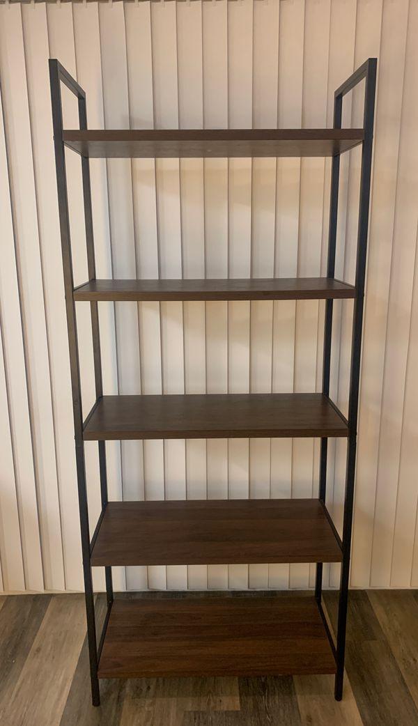 5 Shelf Ladder Bookshelf