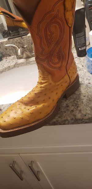 "Genuine ""Ostrich"" Leather Boots for Sale in Smyrna, GA"