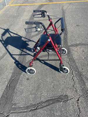 Wheelchair and walker for Sale in Denver, CO