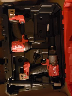 Milwaukee M18 Fuel Brushless Hammer Drill Driver and Impact Driver for Sale in Downey, CA