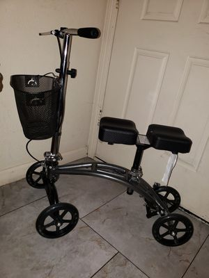 Knee Scooter with basket for Sale in Ceres, CA