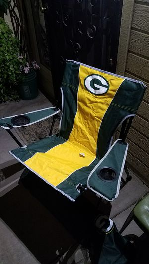 Green Bay Packers Folding Chair for Sale in Stockton, CA