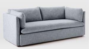 West Elm Shelter sofa - Light gray for Sale in Portland, OR